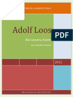 Adolf Loos Informe