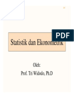 Statistik Dan Ekonometrik [Compatibility Mode]