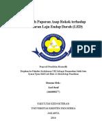 Proposal Penelitian Biomedik - Axel Jusuf