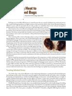 Using Heat to Kill Bedbugs