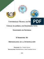 Metodología de la Investigación - Fundamentos Legales de la Investigación - UTMachala _