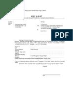 Contoh Surat Permohonan Tes Uji Kesehatan