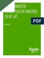 Requerimientos Normativos MT BT Schneider
