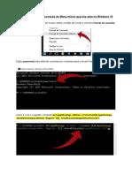 Procedimento Para Correção Do Menu Iniciar Que Não Abre No Windows 11