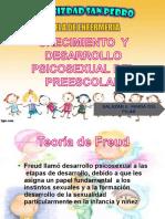 CRECIMIENTO Y DESARROLLO PSICOSEXUAL DEL PREESCOLAR