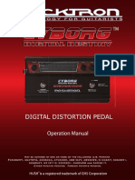 Cyborg Distortion Manual