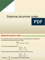 Clase 7a Sistemas de Primer Orden 1