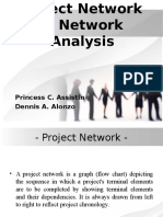 Project Network & Network Analysis (Alonzo, Assistin)