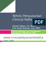 Clinical Pathways (Hanevi Djasri Dan Puti Aulia Rahma)