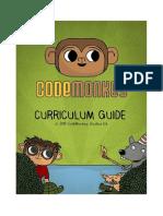 Curriculum Guide Codemonkey Guide