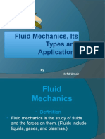 Fluid mechanics applications