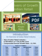 Indian Retail Key Drivers