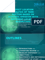 DEFECT LOCATION ANALYSIS USING ACOUSTIC EMISSION
