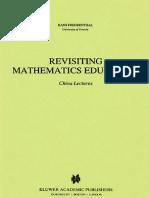 Freudenthal Rrevisiting Mathematics Education