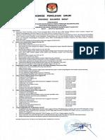 Pengumuman Pendaftaran Calon PPK & PPS Serta Formulirnya