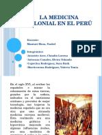 La Medicina Colonial en El Perú