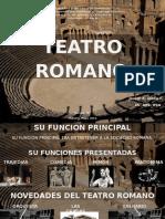 Teatro antigua Roma