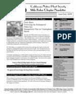 Milo Baker Chapter Newsletter, July 2005 ~ California Native Plant Society