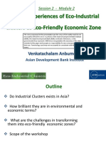 Regional Experiences of Eco-Industrial Clusters (EIC) as Eco-Friendly Economic Zones