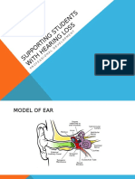 hearing impairment lecture notes 2016