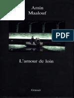 L'Amour de Loin (Litterature Fr - Amin Maalouf