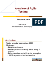Agile Testing Overview