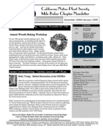 Milo Baker Chapter Newsletter, January 2005 ~ California Native Plant Society