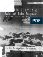 GRAPHIC SURVEY of Radio and Radar Equipment Used by the Army Air Forces