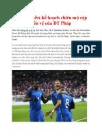 Zidane Lên Kế Hoạch Chiêu Mộ Cặp Tiền Vệ Của ĐT Pháp