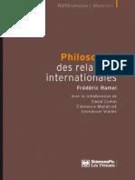 Frédéric Ramel, David Cumin, Clémence Mallatrait, Emmanuel Vianès-Philosophie Des Relations Internationales-Les Presses de Sciences Po (2011)