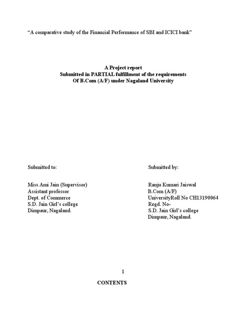 bank visit report pdf