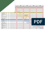 Work Plan Bar Chart