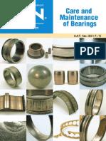 Care & Maint. of Bearings -- NTN.pdf