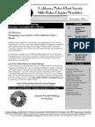 Milo Baker Chapter Newsletter, November 2004 ~ California Native Plant Society