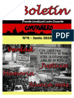 Boletin del Frente Sindical León Duarte