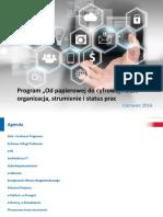 Od Papierowej Do Cyfrowej Polski-status Prac