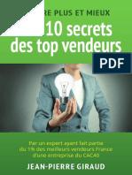 PDF 10 Secrets Top Vendeurs
