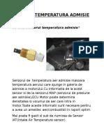 219891876 Senzor Temperatura Admisie