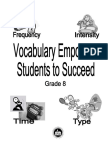 Vocabulary - Health Fitness