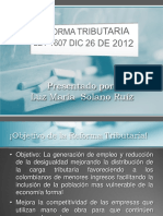 Presentacion Reforma Tributaria Parte No 11