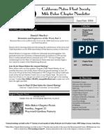 Milo Baker Chapter Newsletter, June 2004 ~ California Native Plant Society