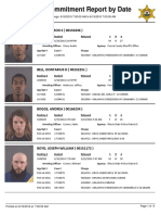 Peoria County Jail Booking Sheet 6/19/2016