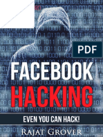 Facebook Hacking - Rajat Grover