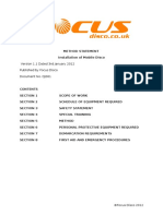 Risk Assessment Method Statement Focus