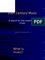 20th Century Music (1)