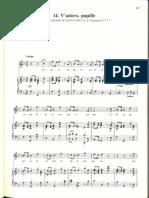V'Adoro Pupille, Handel