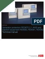 1MRK502066-UUS a en Technical Manual Generator Protection REG670 2.1 ANSI (1)