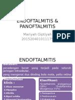 ENDOFTALMITIS & PANOFTALMITIS