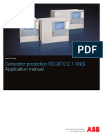 1MRK502065-UUS - En Application Manual Generator Protection REG670 2.1 ANSI