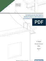Coletânea do Uso do Aço 1 - Interface entre Perfis Estruturais Laminados e Sistemas Complementares